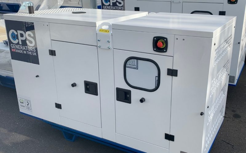 Diesel Generator building process