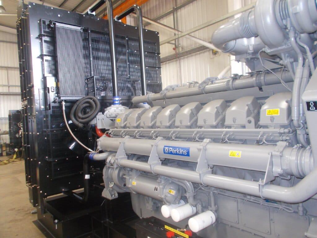 Large Openset 2000kVA UK Built Diesel generator  Constant Power Solutions