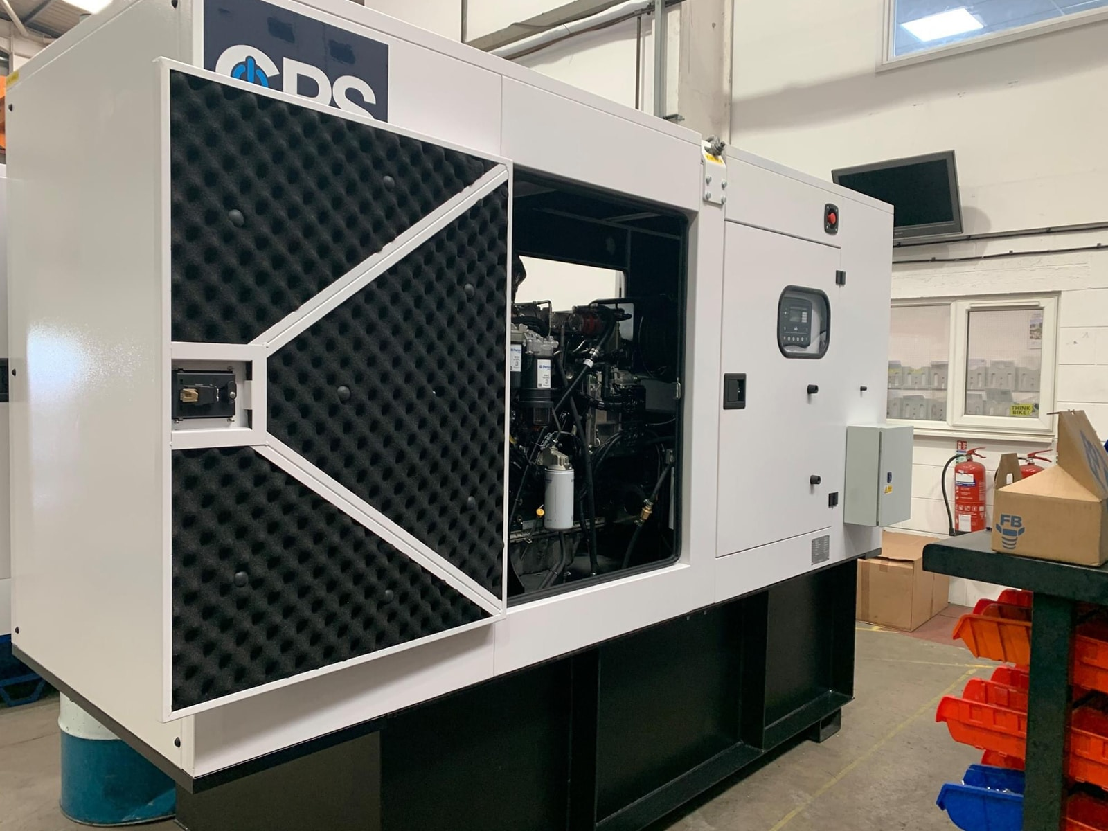 Amazon Distribution Centre diesel generator supply  Constant Power Solutions