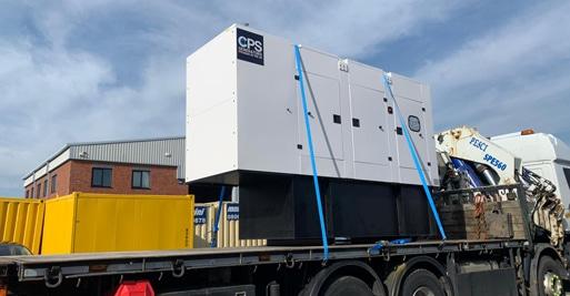 Amazon Distribution Centre diesel generator supply