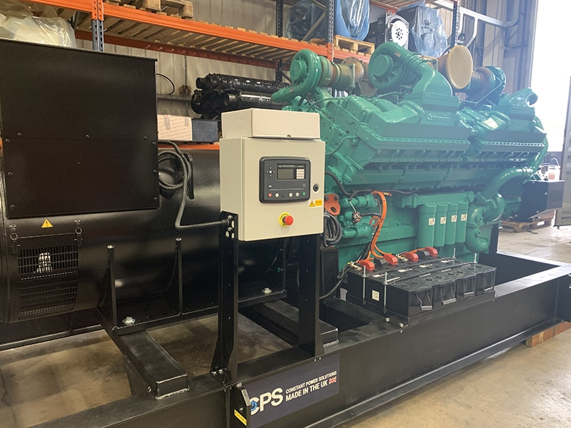 Vinaconex Trading and Manpower diesel generator| Constant Power Solutions