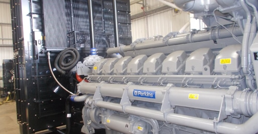 Large Openset 2000kVA UK Built Diesel generator