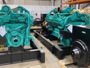 Vinaconex Trading and Manpower diesel generator