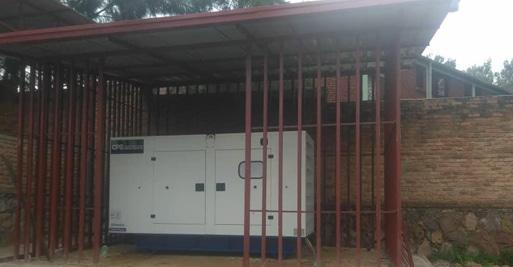 Rwanda Rehab Centre diesel generator project