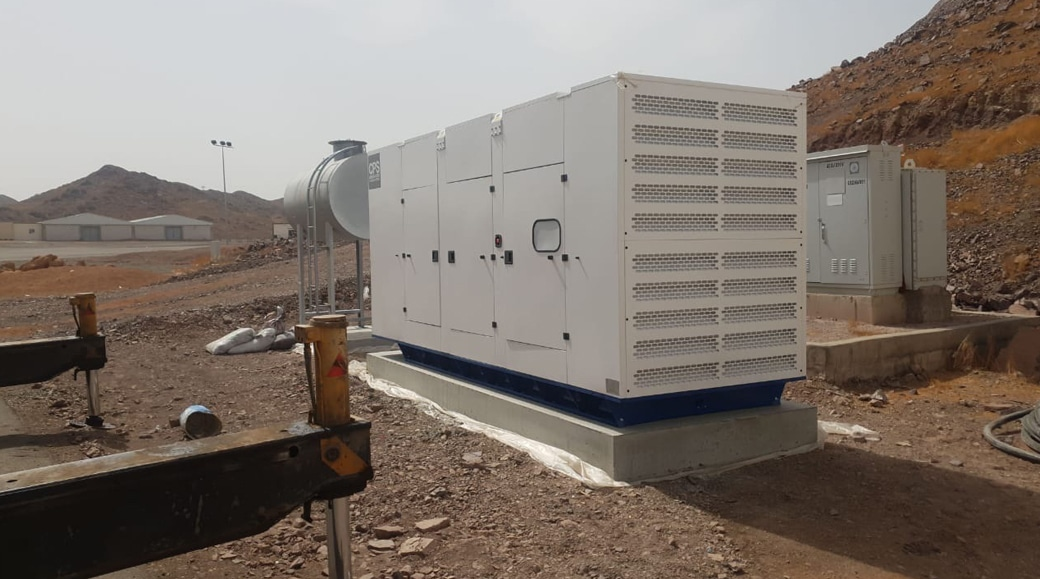 Saudi Telecoms diesel generator project