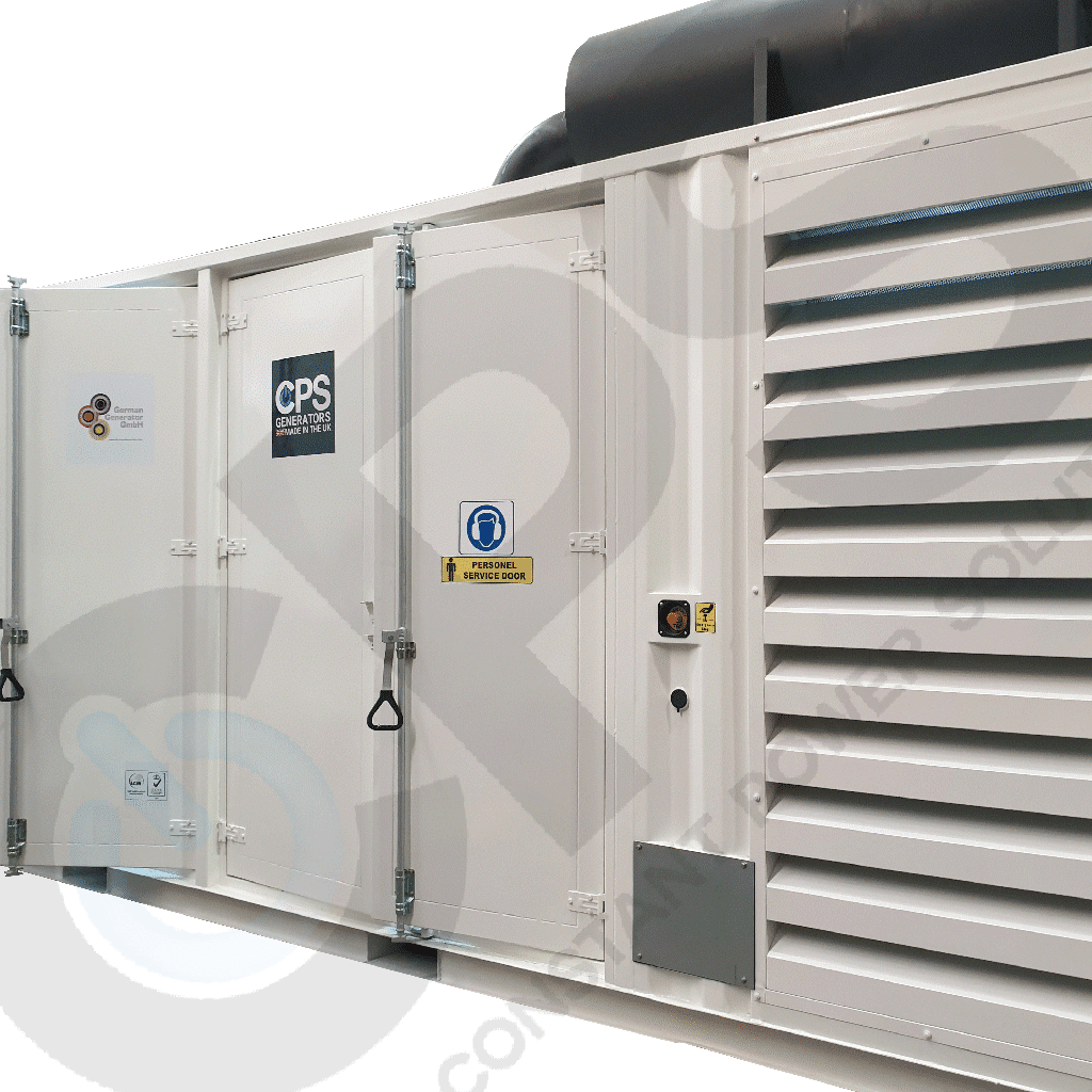 Containerised Generator - Constant Power Solutions