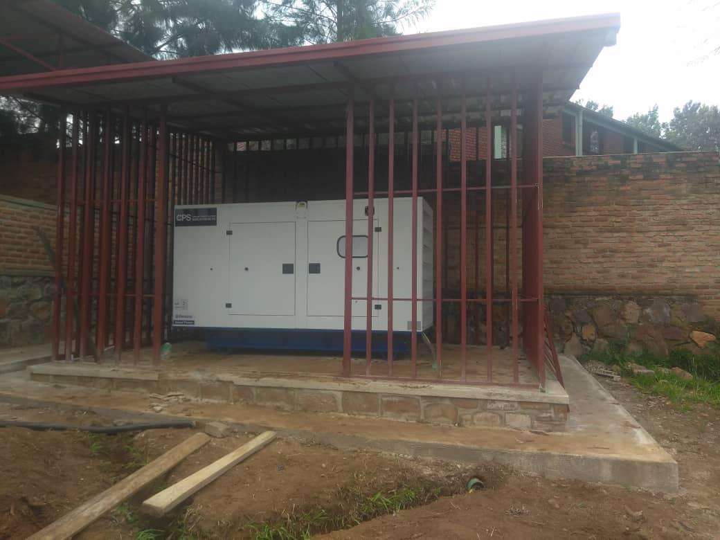 Rwanda Rehab Centre diesel generator project| Constant Power Solutions