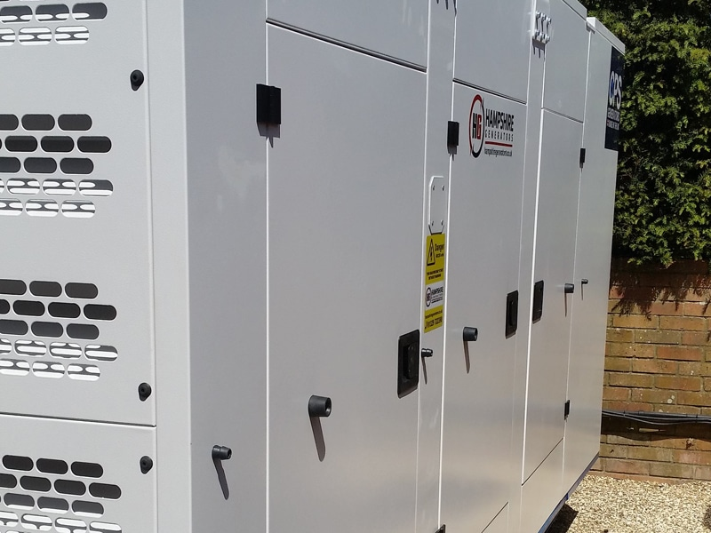 Hampshire CPS Generator Back  Constant Power Solutions