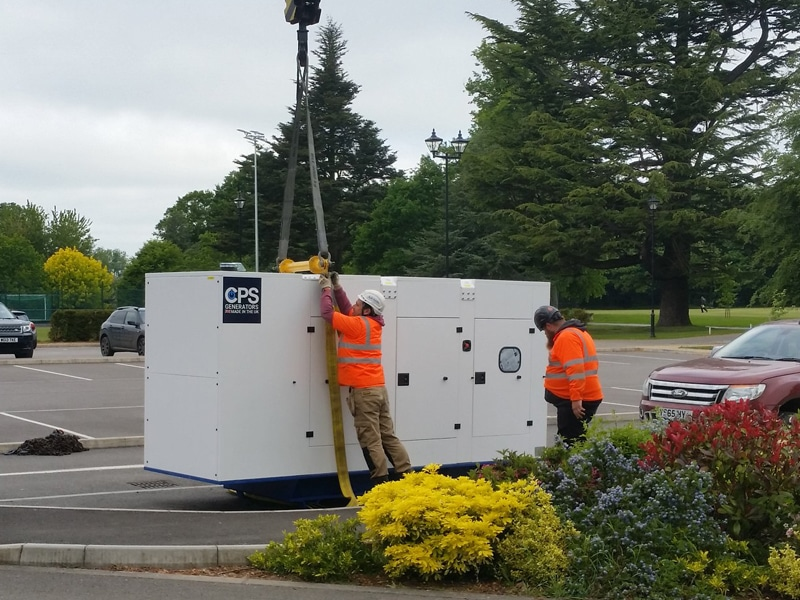 Hampshire CPS Generator Delivery  Constant Power Solutions
