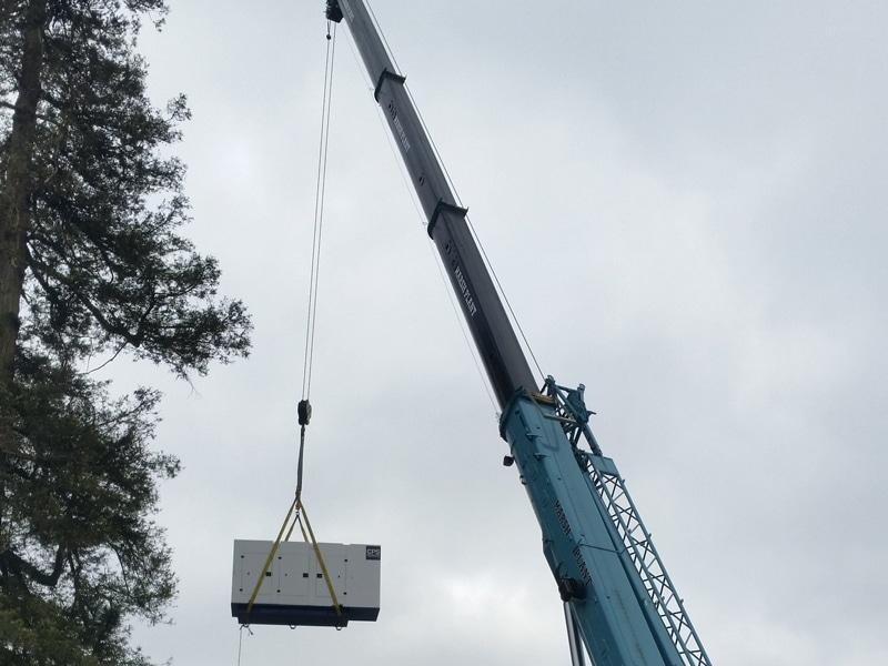 Scania Hampshire Crane  Constant Power Solutions