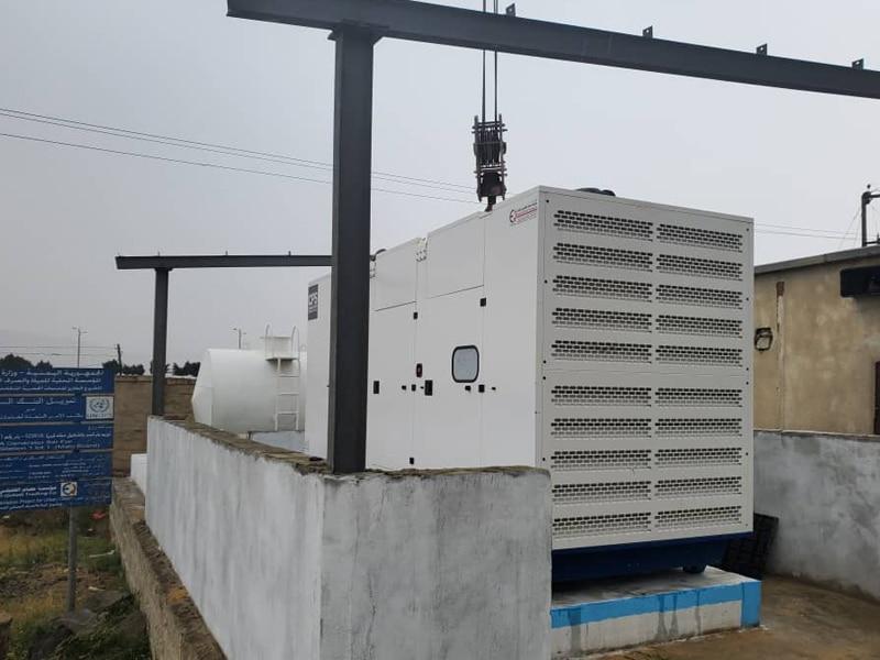 Yemen Generator Crane Delivered| Constant Power Solutions