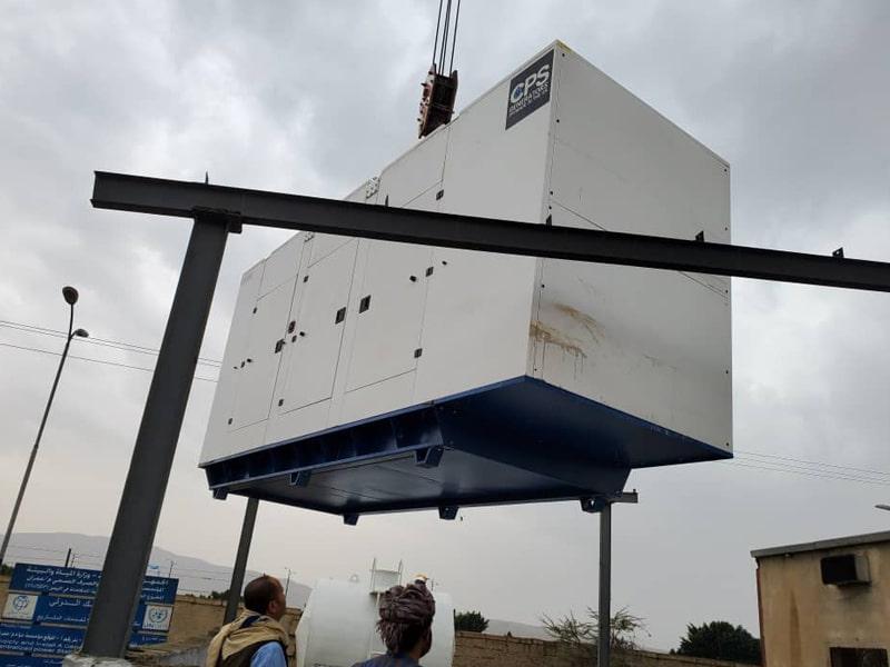 Yemen Generator Delivery| Constant Power Solutions