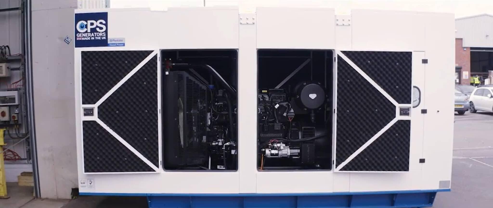 Bahamas Asphalt Factory AP510S-60HZ Open Generator  Constant Power Solutions