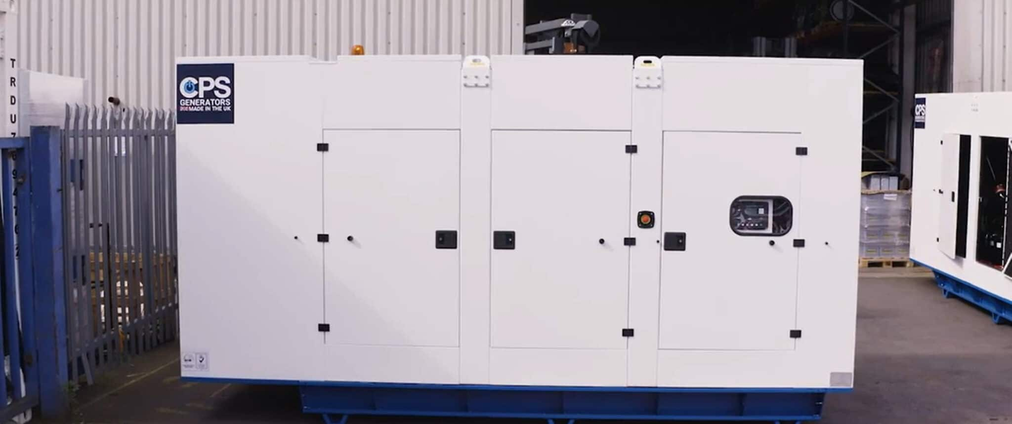 Bahamas Shopping Complex AP360S-60HZ Generator Outside  Constant Power Solutions