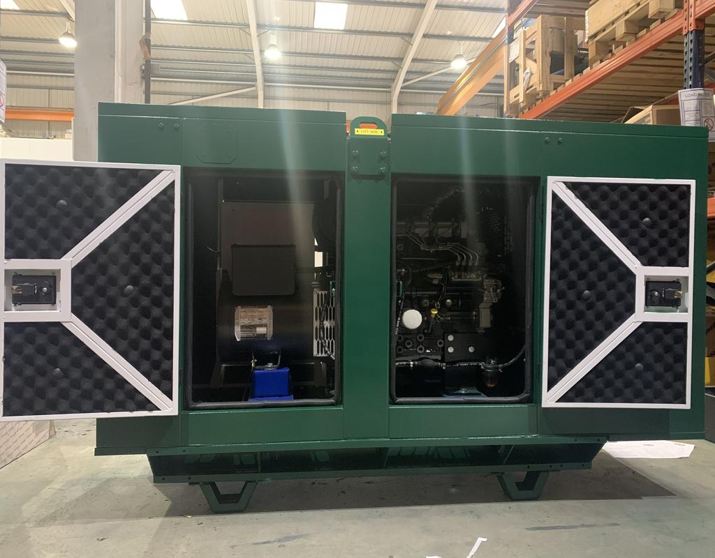 Magna Carta Park Generator Doors Open| Constant Power Solutions