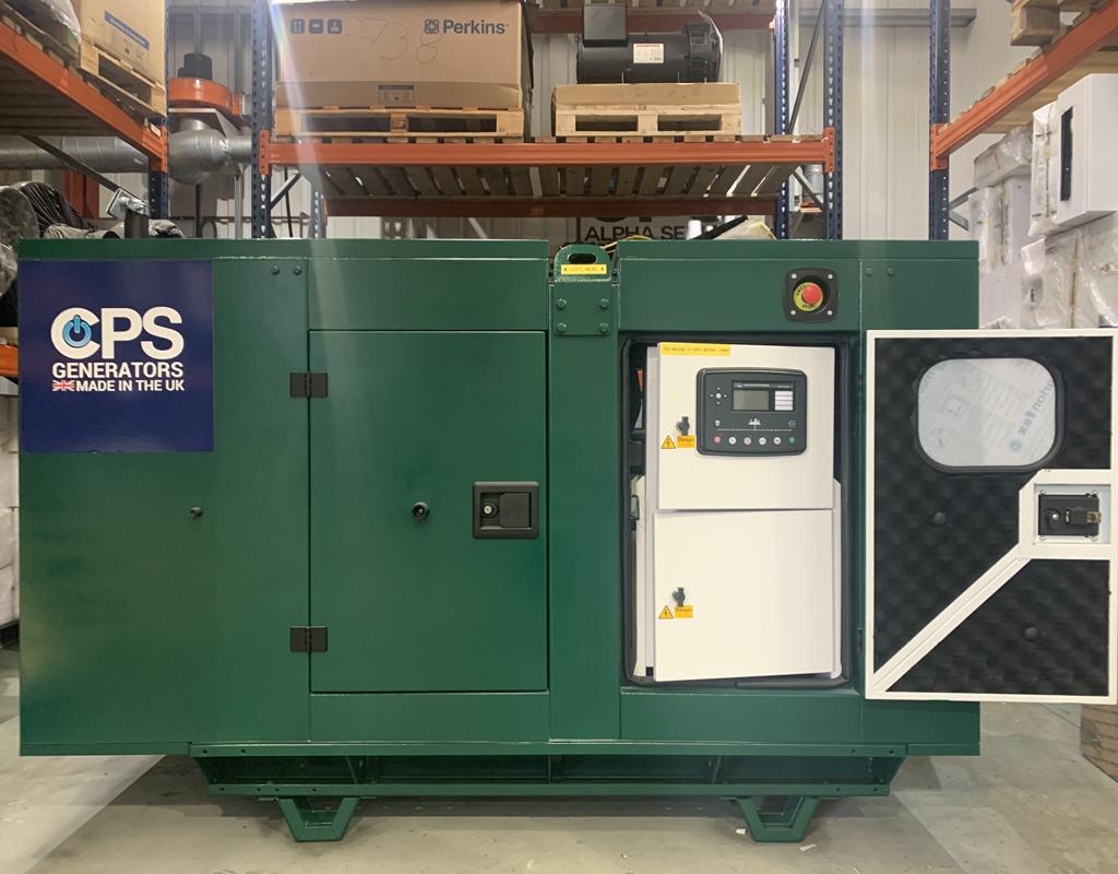 Magna Carta Park Generator Open Door| Constant Power Solutions