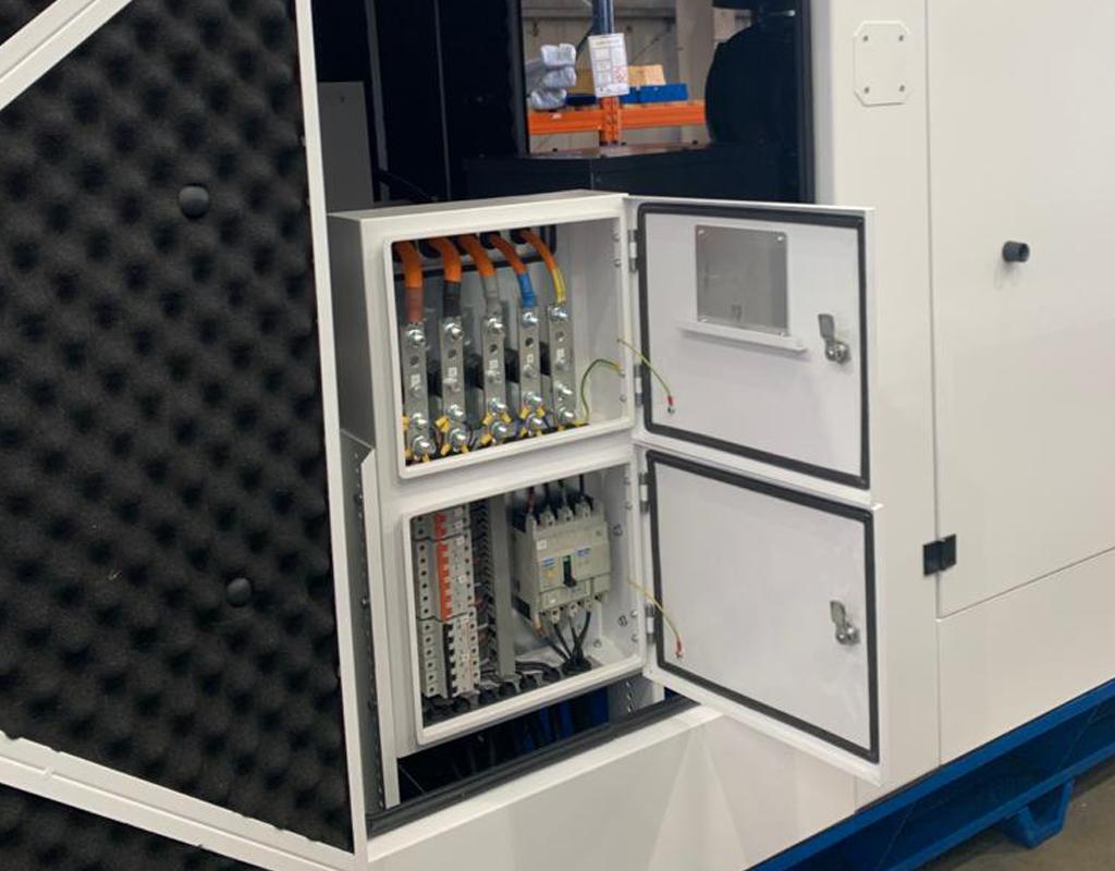 UK Factory Inside Generator  Constant Power Solutions