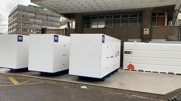 Three CPS Backup Power Generators  Constant Power Solutions