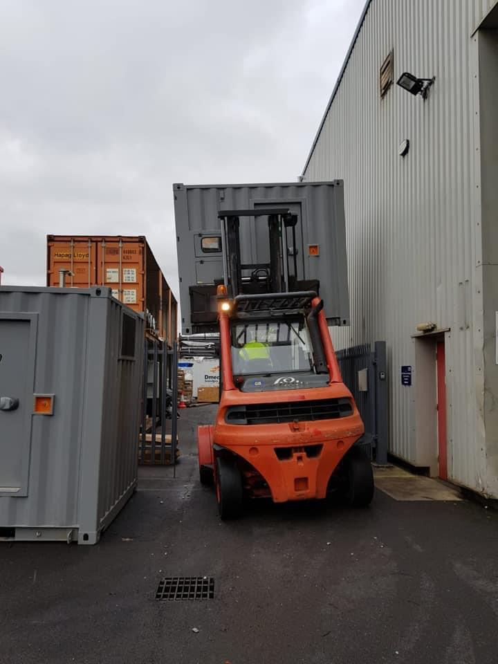 Forklift Truck  Constant Power Solutions