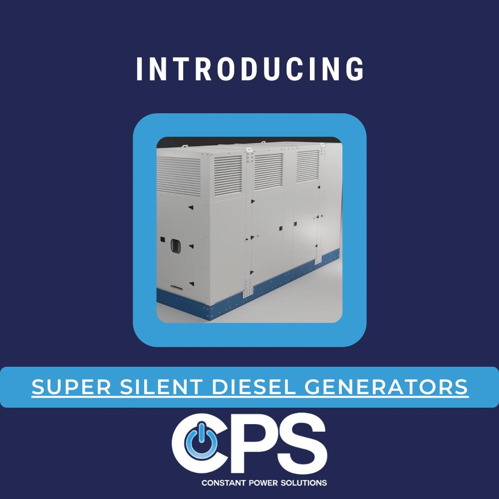 Introducing Super SIlent Generators  Constant Power Solutions