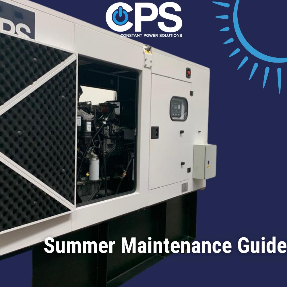 Summer Generator Maintenance| Constant Power Solutions