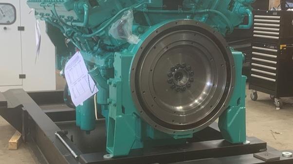 El Sallab Hospital - Generator bottom view| Constant Power Solutions