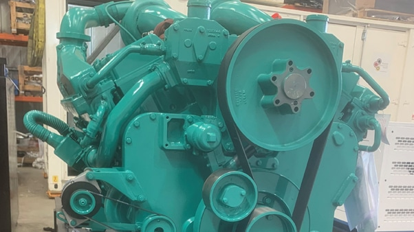 El Sallab Hospital - Side view generator| Constant Power Solutions