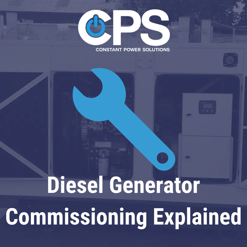 Diesel Generator Commissioning Explained| Constant Power Solutions