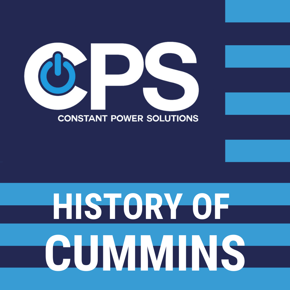 History of Cummins  Constant Power Solutions