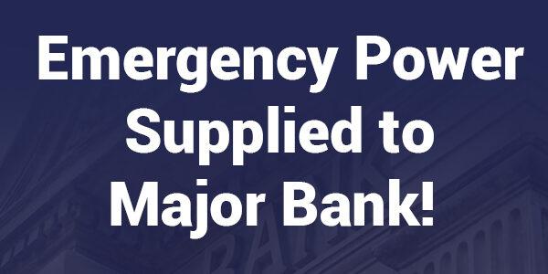 Emergency power supplied to Bangladesh bank